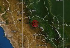 Junín: sismo de magnitud 4,4 fue sentido en Chanchamayo