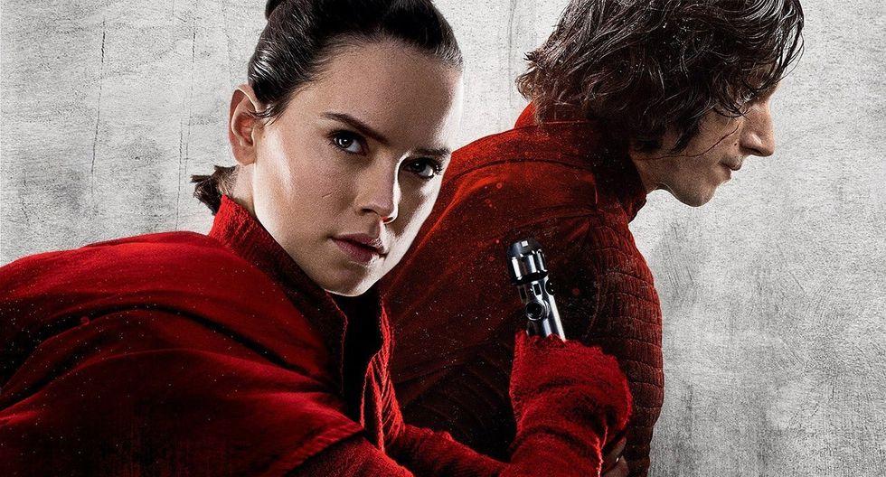 """""""The Rise of Skywalker"""" resuelve finalmente el conflicto entre Kylo Ren (Adam Driver) y Rey (Daisy Ridley). (Foto: Lucasfilm)"""