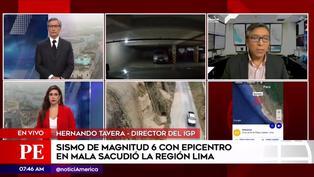 Sismo en Lima: temblor de magnitud 6 produjo 14 réplicas, según IGP