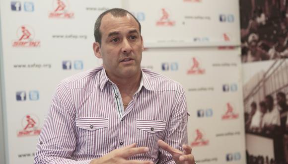 Roberto Silva Pro, ex futbolista profesional, es el presidente de la SAFAP. (Foto: GEC)