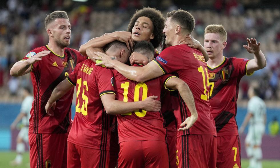Bélgica y Portugal se midieron por octavos de final de la Eurocopa   Foto: AP