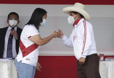 """Keiko Fujimori a Pedro Castillo: """"No mienta, no sea cobarde, acepte los cuatro debates porque esto va a beneficiar a toda la población"""""""