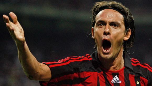 Filippo Inzaghi será nuevo técnico del Milan, afirman en Italia