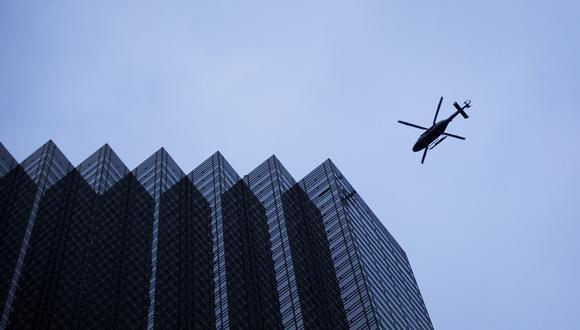 ¿Se debe permitir viajes por el aire sobre una ciudad tan poblada como Nueva York? Foto: Archivo de AFP