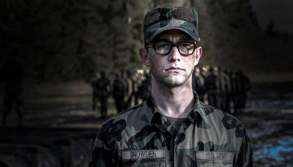 Joseph Gordon-Levitt en su primera imagen como Edward Snowden