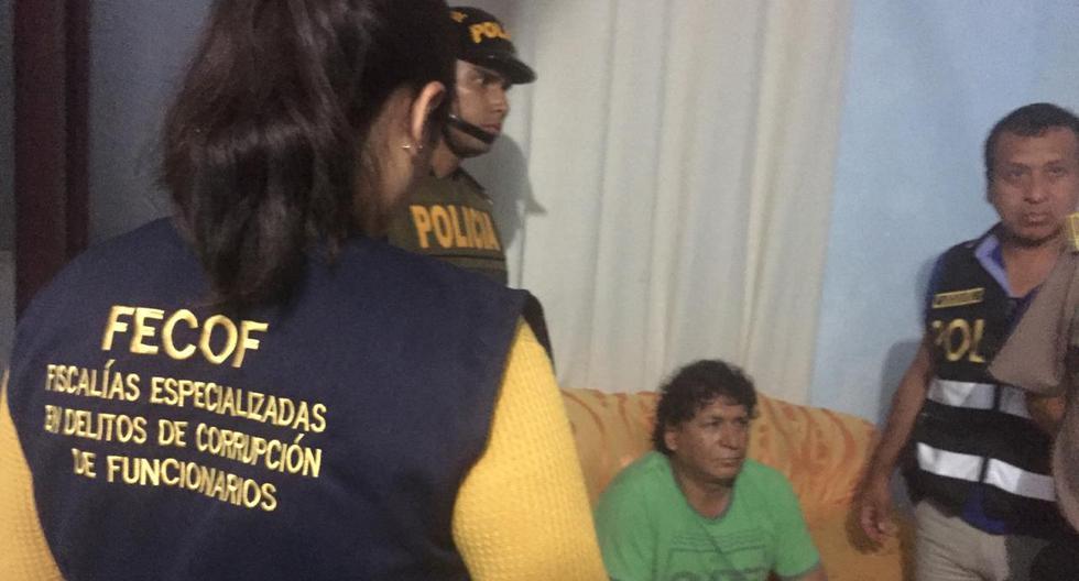 Esta madrugada se detuvo al alcalde de Punta Negra, José Rubén Delgado Heredia y otros  funcionarios, presuntos miembros de la organización criminal 'La Jauría del Sur'. (Foto: Ministerio Público)