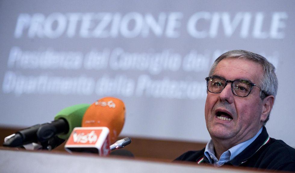 El jefe de Protección Civil de Italia Angelo Borrelli. (EFE/EPA/ANGELO CARCONI).