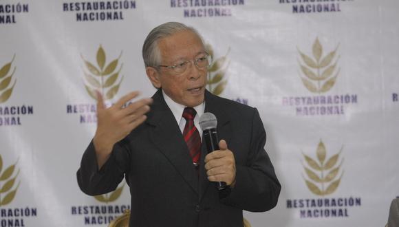Humberto Lay renunció a la presidencia de Restauración Nacional en mayo. Luego empezó el proceso de reestructuración del partido. (Foto: GEC)