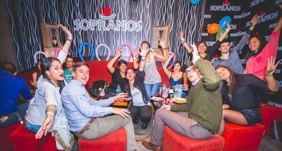 Separa un box en Sopranos desde S/350 (grupo de 5) hasta S/1.400 (25 personas).(Foto: Sopranos)