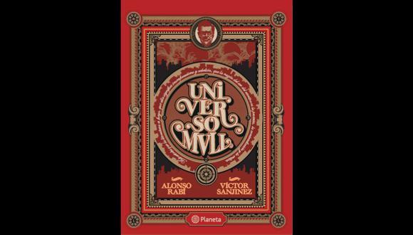 Portada del libro Universo MVLL de Alonso Rabí y Víctor Sanjivez.