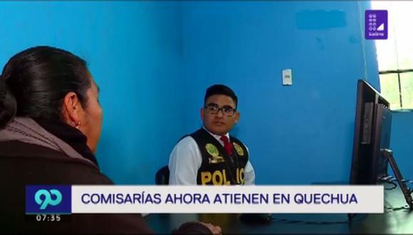 En la zona de Manchay viven 10 mil personas quechuahablantes. Una de ellas es Martha Huacashi, quien interpuso una denuncia contra su pareja por agresión física en lengua quechua, ya que no habla castellano. (Foto: Latina)