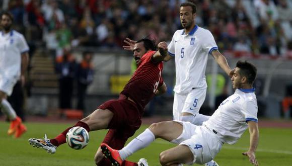 Portugal, sin Cristiano, empató a cero con Grecia en amistoso