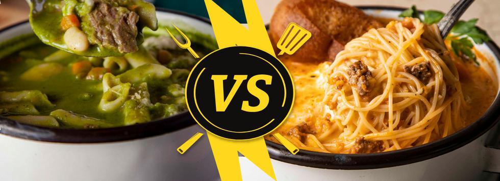 ¿Menestrón vs. sopa criolla? ¿Cuál es la mejor opción para disfrutar vía delivery?