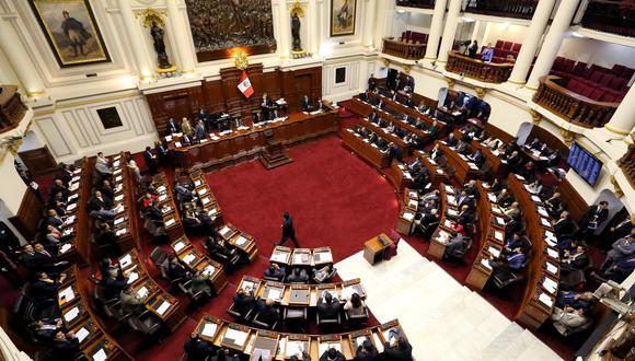 El pleno del Congreso está agendado para el mediodía (Foto: Congreso)