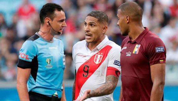Wilmar Roldán arbitró a Perú dos veces en la reciente Copa América. (Foto: AFP)