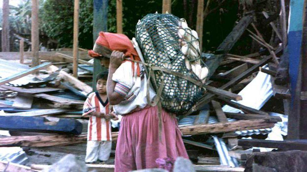 Santa Rita es una comunidad marginada de Chiapas. (AFP).