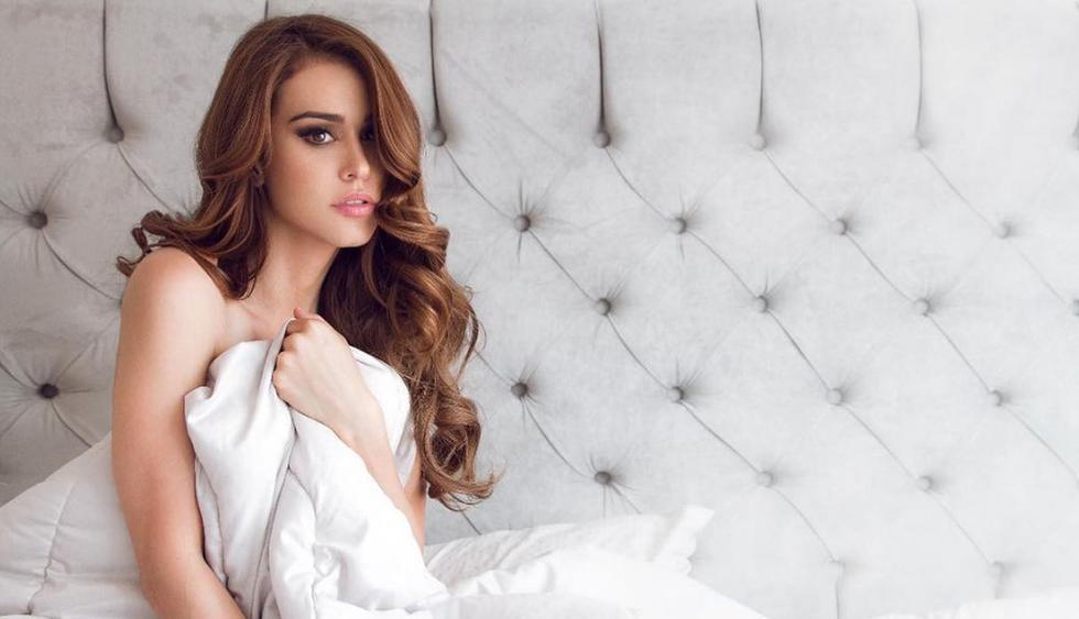 Yanet García acostumbra a publicar imágenes muy sensuales pero también tiene su lado angelical. (Foto: Instagram)