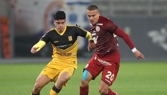 El Universitario-Cantolao fue el primer partido del reinicio de la Liga 1 el pasado 7 de agosto. (Foto: Liga 1)