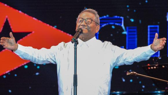 El cantautor Armando Manzanero falleció el lunes. (Foto: AFP)