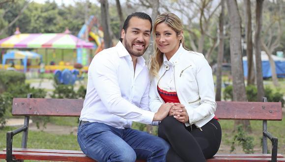 Álvaro Paz de la Barra y Sofía Franco en 2018, antes de la denuncia por agresión. (Foto: Giancarlo Ávila/GEC)
