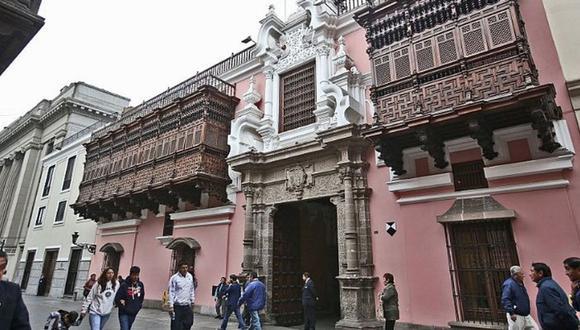 Cancillería (Foto: Andina)