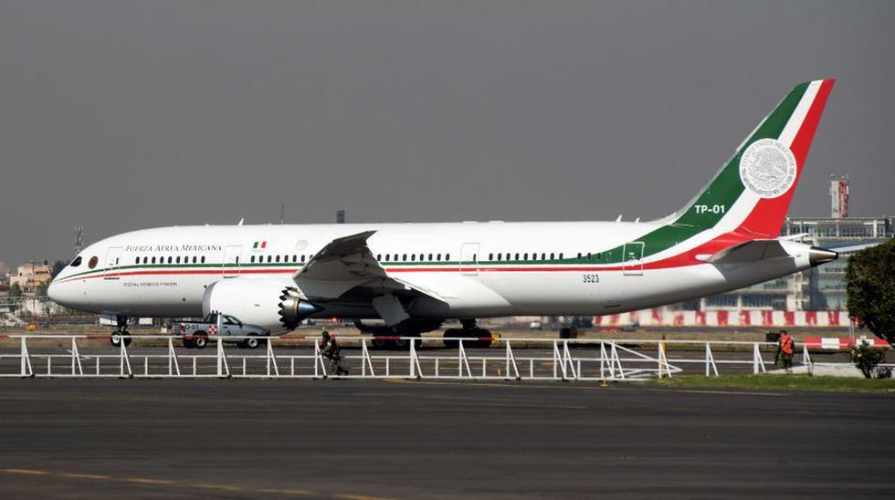 El Gobierno de México regresará a su territorio el avión presidencial que se envió a Estados Unidos ya que no se concretó su venta.  (Foto: Archivo/AFP).