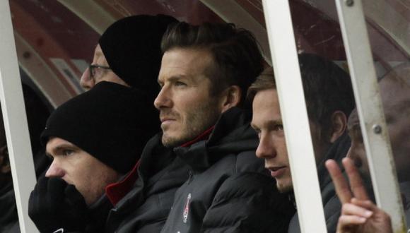 Hoy se define si David Beckham podrá tener un equipo en la MLS