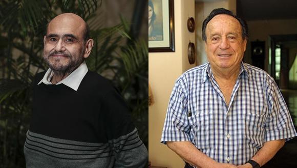 Edgar Vivar y Roberto Gómez Bolaños. (Foto: El Comercioo / Difusión)