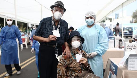 Vacunación contra el COVID-19 sigue avanzando en el Callao. Foto: GEC