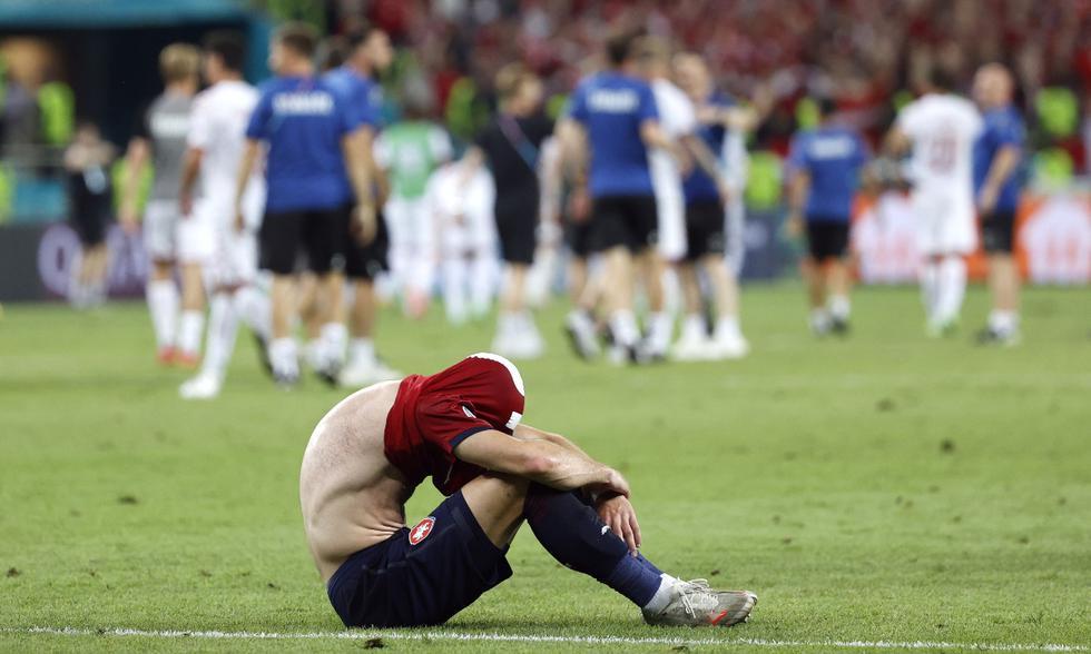 República Checa y Dinamarca se enfrentaron en cuartos de final de la Eurocopa | Foto: REUTERS
