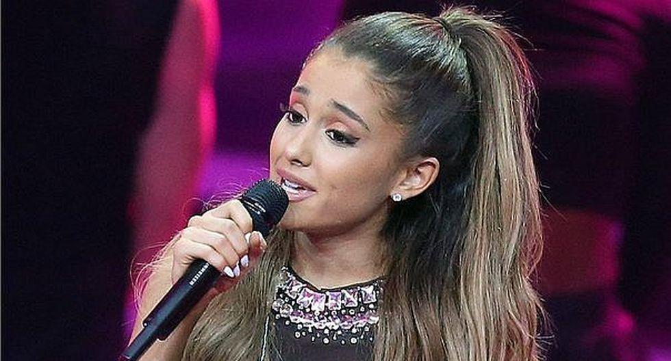 Ariana Grande contestó a uno de los videos que realizó la adolescente de 15 años.