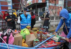 Cercado de Lima: multan a dos sujetos con S/8.600 por vender pirotécnicos