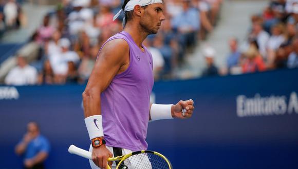 Rafael Nadal venció 3-1 a Marin Cilic y avanzó a los cuartos de final del US Open 2019 | Foto: AP