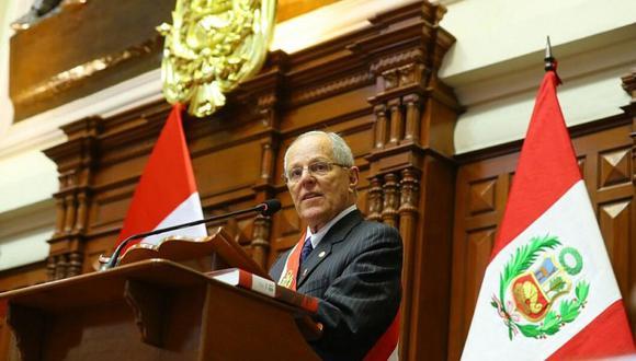 El presidente PPK aprovechó su mensaje a la nación para prometer la realización de los Juegos Panamericanos Lima 2019. (Foto: Presidencia del Perú)