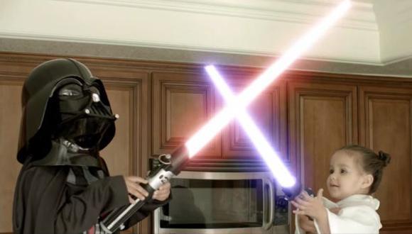 YouTube: Star Wars y la pelea de los bebes jedi por un cupcake