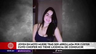 Los Olivos: joven extranjera fallece tras ser atropellada por cúster