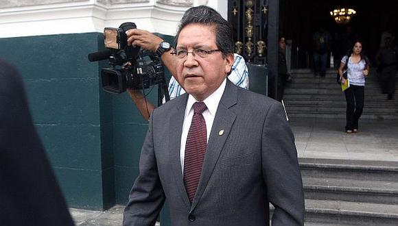 "Fiscal Sánchez: ""Al Ministerio Público se le respeta"""