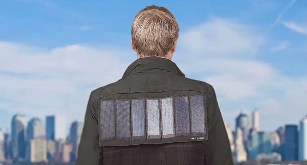 Esta casaca cargará tus dispositivos móviles