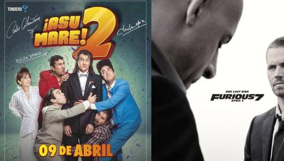 """""""Asu Mare 2"""" no le teme al éxito de """"Rápidos y furiosos 7"""""""