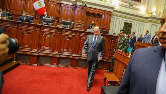 En el debate de diciembre, el pedido de vacancia presidencia no alcanzó los 87 votos requeridos. (Foto: Presidencia)