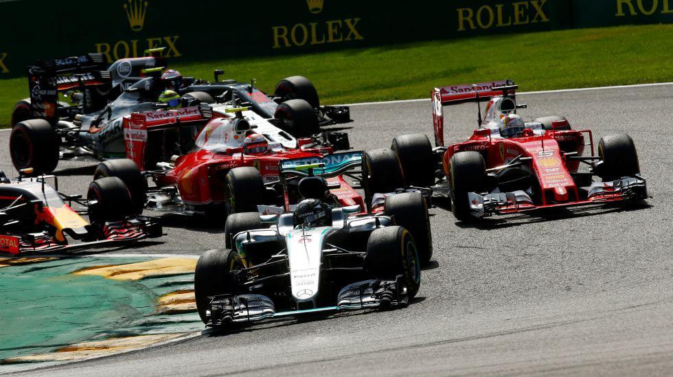 Fórmula 1: Nico Rosberg ganó un accidentado GP de Bélgica  - 1