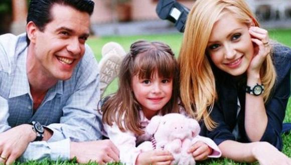 """""""Carita de ángel"""" fue la telenovela que protagonizó el venezolano Miguel de León junto a la pequeña Daniela Aedo y Lisette Morelos. (Foto: Televisa)"""