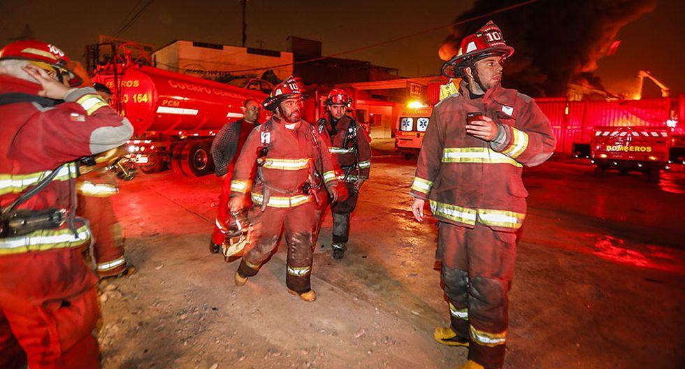 El Agustino: la tragedia que cobró vida de 3 bomberos [FOTOS] - 2