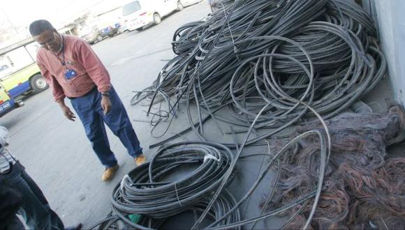 Se reducen levemente los robos de cables de telefonía