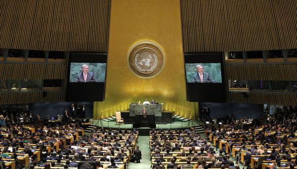 La 74 Asamblea General de la ONU se abrió con el discurso que brindará el Secretario General Antonio Guterres, para luego dar pase a los presidentes de Brasil Jair Bolsonaro, y de Estados Unidos Donald Trump. (Reuters).