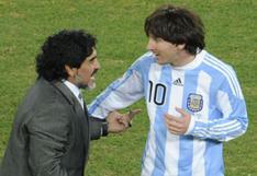 """""""Nos deja, pero no se va"""": Messi dejó conmovedor mensaje por el fallecimiento de Maradona"""