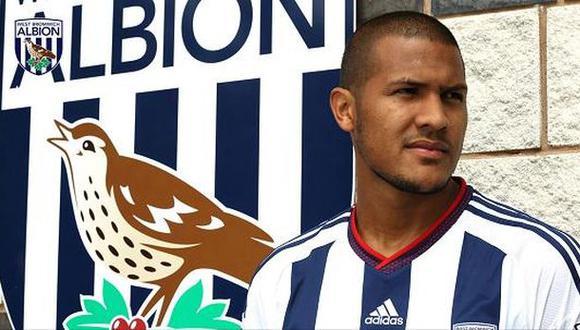West Bromwich fichó a Salomón Rondón en cifra récord del club