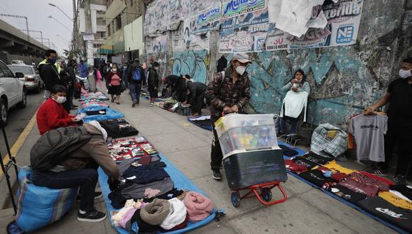 En el segundo trimestre del año se perdieron casi 2,7 millones de empleos en Lima Metropolitana. (Foto: Cesar Campos/GEC)