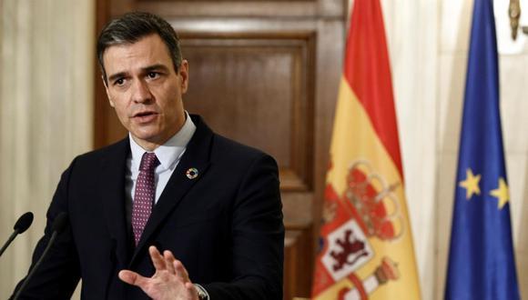 Pedro Sánchez: España está a 100 días de lograr la inmunidad de rebaño contra el coronavirus. (EFE/EPA/YANNIS KOLESIDIS).