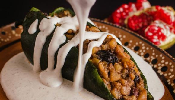 Aprende a preparar unos deliciosos chiles en nogada, un platillo típico de México (Foto: Freepik)